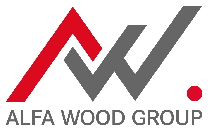 alfa wood group logo